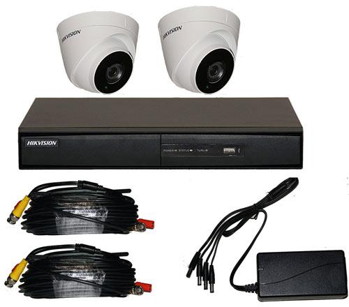 2 Camera CCTV Kits