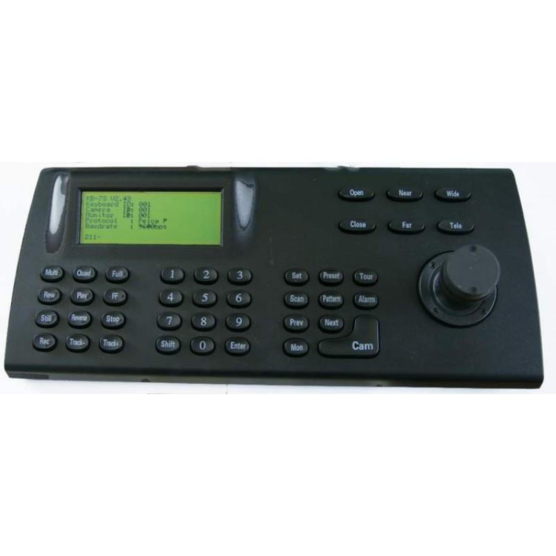 3 Axis PTZ Controller for Pan Tilt Zoom CCTV Cameras