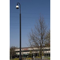 Base Mounted CCTV Camera Pole - 5 Metres High
