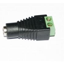 Female DC Power Plug for CCTV Cameras