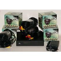 4 Camera High Definition CCTV Kit