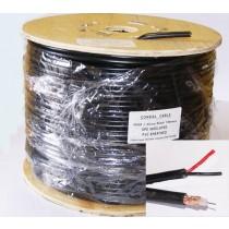 RG59 + power Shotgun CCTV Coaxial cable