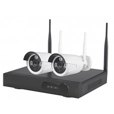 Wireless CCTV Kit with 2 WiFi Cameras 1TB Recorder