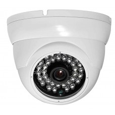 1,000TVL 960H Dome IR Camera Fixed Wide Angle lens