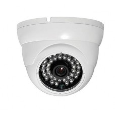 700TVL CCTV Vandal Dome White Camera 25m External