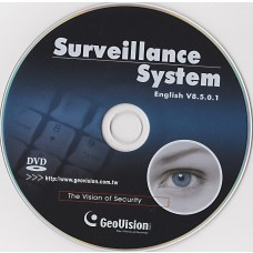 GeoVision Genuine V8.5 software Disc
