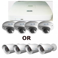 4 Camera High Definition Kit using IP Cameras