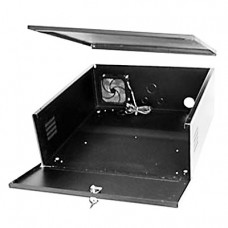 Metal Lockable Steel Case for housing CCTV Recorders