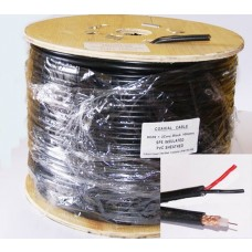 RG59 + power Shotgun CCTV Coaxial cable