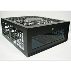 Slim Steel Case for CCTV Recorder - Cage - Lockable