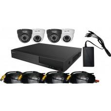 Budget 4 Camera HD CCTV Kit 1TB