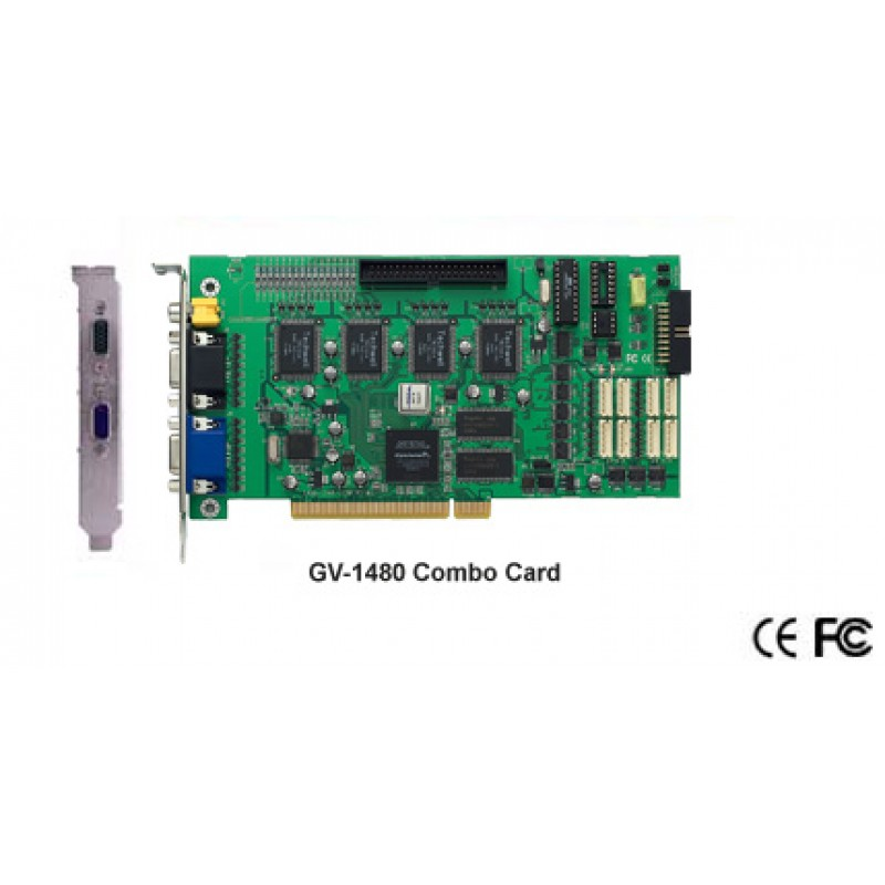 GV-1480 16 Channel 400fps Video Capture card