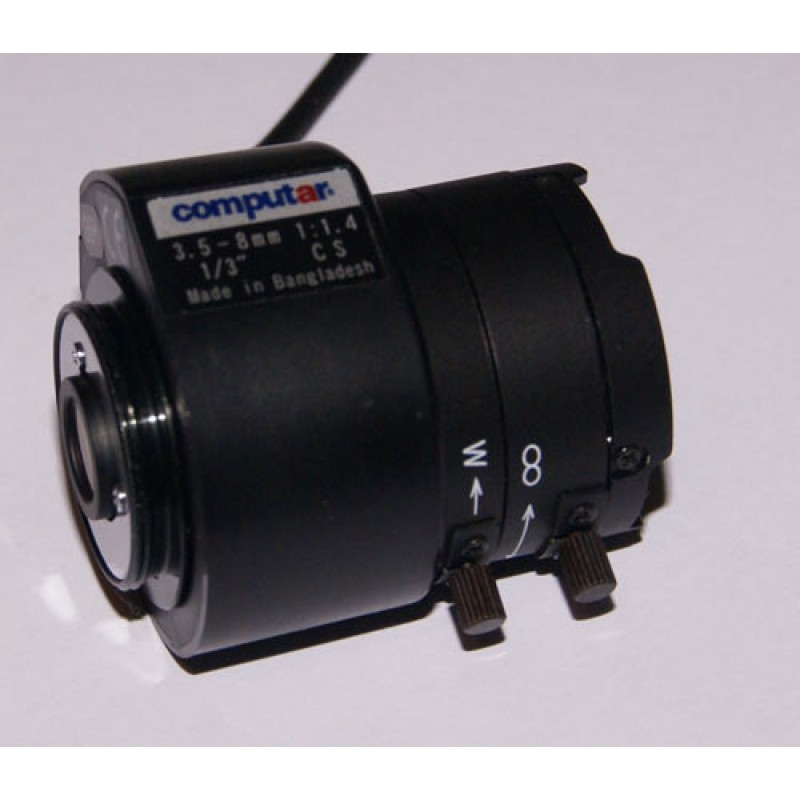 3.5-8mm Auto Iris Direct drive lens