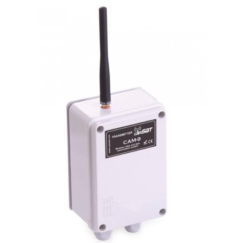 2KM Video & PTZ Telemetry Transmission Kit CD9