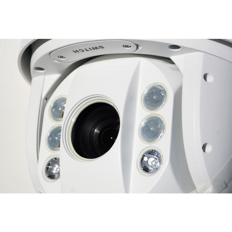 DS-2AE7230TI-A 30 X Zoom Turbo TVI Full HD Professional PTZ camera Side View