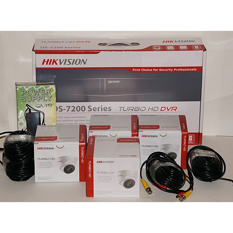 4 Camera High Definition CCTV Kit