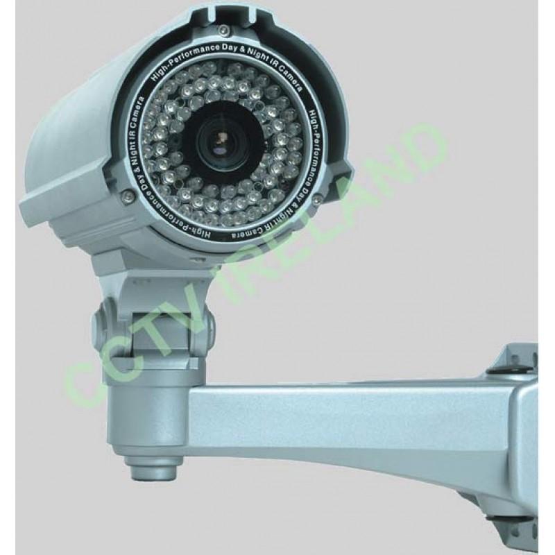 60m 600 TVL Day / Night 50pc IR Led CCTV camera 9-22mm