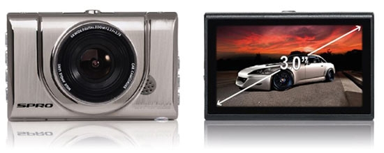 DC-100 Dashcam Full HD from SPro