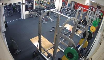 Leisure Centre Gym CCTV