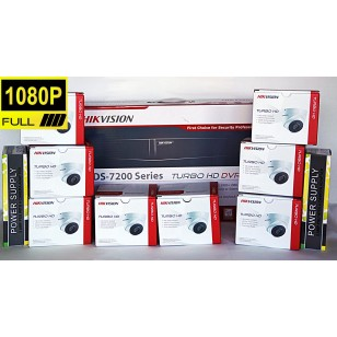 8 Camera Full Hd Professional Cctv Kit From Hikvision The