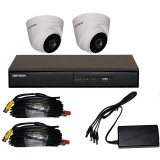 2 Camera Full HD CCTV Kit with HIKVision Recorder & Cameras