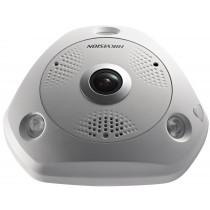 DS-2CD63C2F-IVS HD 12mp 360º View Fisheye Camera