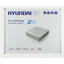 HYU-224 8 Channel Full HD Hybrid CCTV Recorder TVI HDCVI AHD CVBS and 2 IP Cameras 2TB from Hyundai