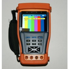 3.5 Inch CCTV Tester with Signal Generator, LAN tester, DMM