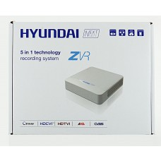 HYU-223 4 Channel Full HD Hybrid CCTV Recorder TVI HDCVI AHD CVBS and IP Cameras 1TB from Hyundai