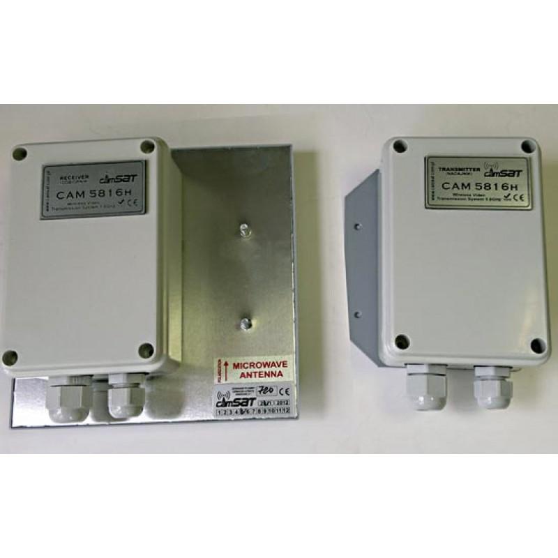 Very Long Range CCTV Wireless Kit - 5.8Ghz 3KM