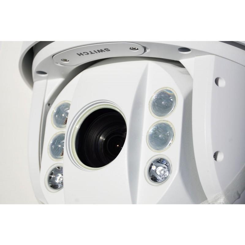 DS-2AE7230TI-A 30 X Zoom Turbo TVI Full HD Professional PTZ camera Side View