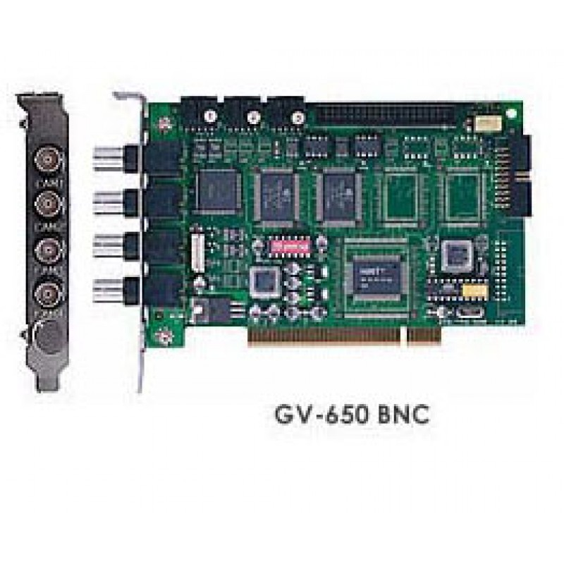 GV-650 4 Channel CCTV Video Capture Card 50fps