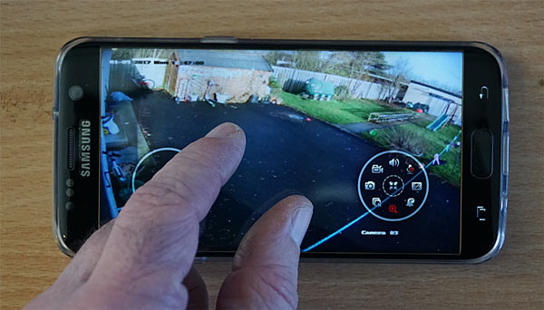 iVMS-4500 Mobile App HIKVision Sample Image HIKVision